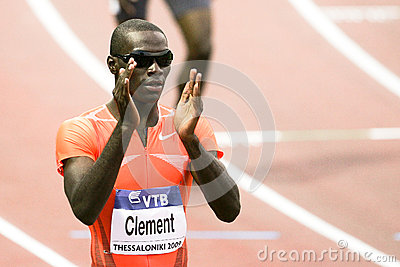Kerron Clement Editorial Stock Photo