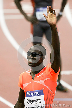 Kerron Clement Editorial Stock Image