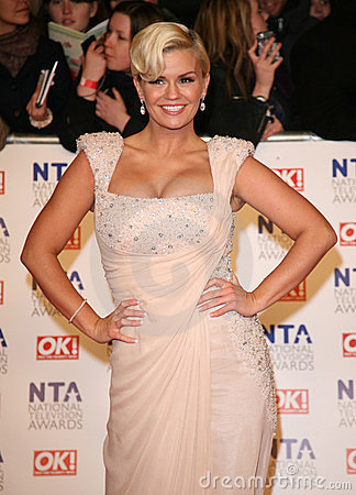Kerry Katona Editorial Stock Image