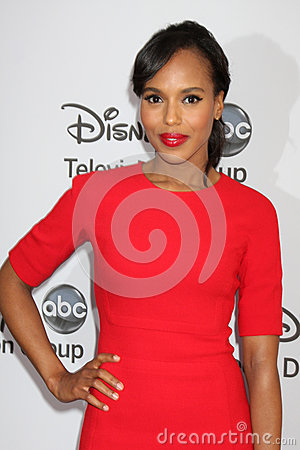 Kerry Washington arrives at the ABC / Disney International Upfronts Editorial Image
