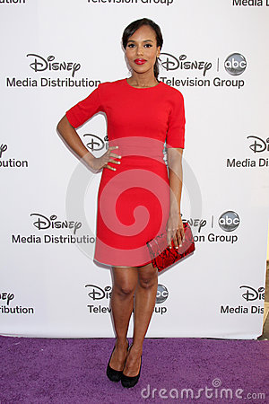 Kerry Washington arrives at the ABC / Disney International Upfronts Editorial Stock Image
