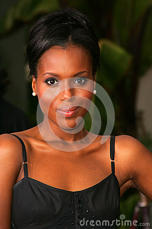 Kerry Washington Editorial Stock Photo