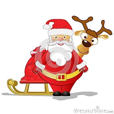 Afbeeldingsresultaat voor kerstman met rudolf