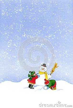 Kerstmis-Painting3