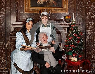 Kerstmis van de familie