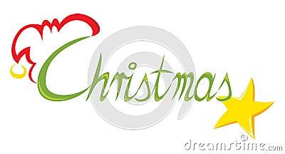 Kerstmis van de tekst