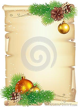 Kerstmisachtergrond