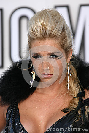Kesha Editorial Stock Photo