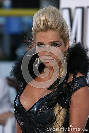 Kesha Editorial Stock Photo
