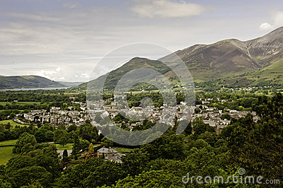 Keswick dans le district de lac, R-U