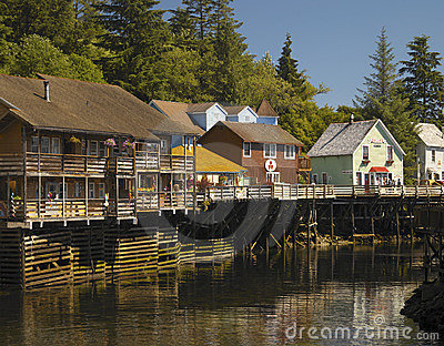 Ketchikan - Alaska Editorial Photography