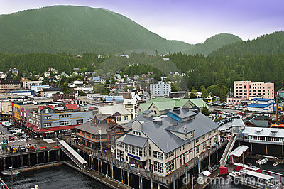 Ketchikan Alaska Cruise Ship Stop Inside Passage