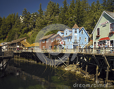 Ketchikan - Alaska - USA Editorial Photography