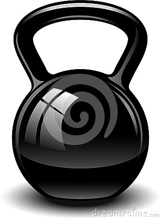 Kettle Bell Royalty Free Stock Image - Image: 30661476