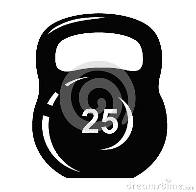 Kettlebell Icon Royalty Free Stock Images - Image: 37178249