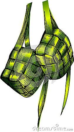Ketupat Royalty Free Stock Image Image 3717896