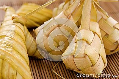 Ketupat Malay Food Stock Photography