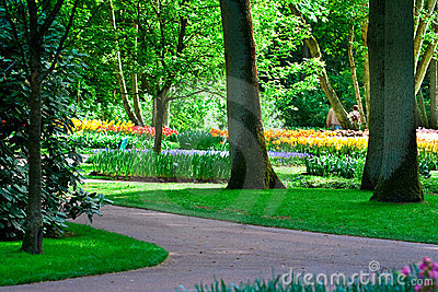 Keukenhof Park