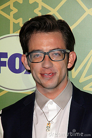 Kevin McHale at the FOX All-Star Party, Castle Green, Pasadena, CA 01-08-12 Editorial Stock Image