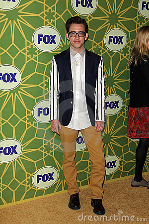 Kevin McHale at the FOX All-Star Party, Castle Green, Pasadena, CA 01-08-12 Editorial Photo