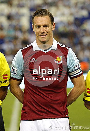 Kevin Nolan of West Ham United Editorial Photography