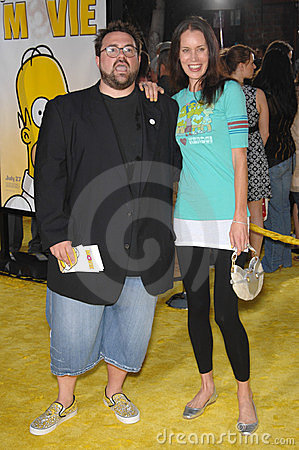 Kevin Smith, The Simpsons Editorial Photo