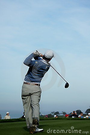 Kevin Streelman 2012 Farmers Insurance Open Editorial Image