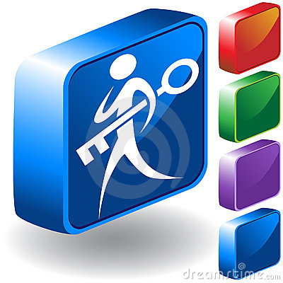 Key 3D Icon