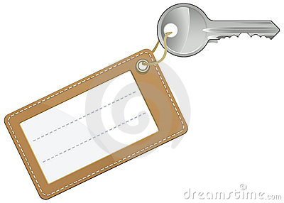 Key with blank text label