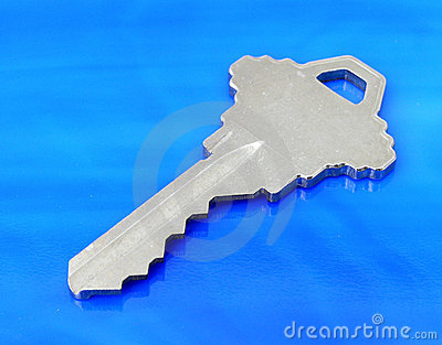 Key on Blue
