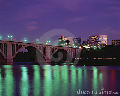 Key Bridge Editorial Image