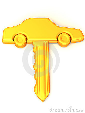 The key of the car