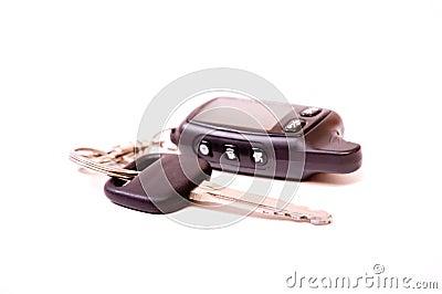 Key of a car a charm