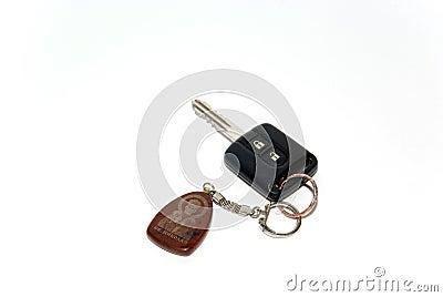 Key with a charm