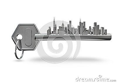 Key city