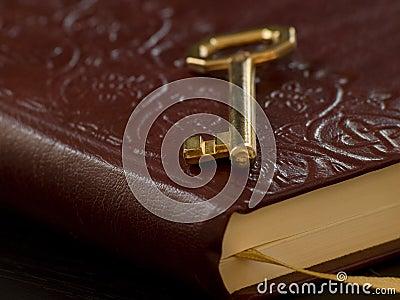 Key on the diary