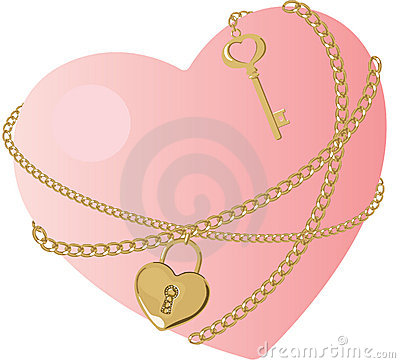 The Key Of Heart Royalty Free Stock Photography - Image: 21471097