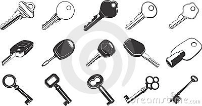 Key Illustration Set