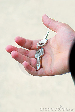 Free Key In Hand Stock Image - 12405701