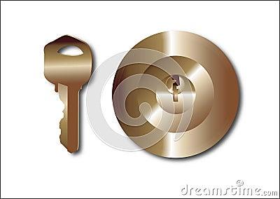The key, key
