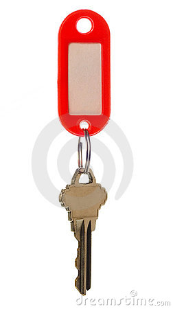 Key with key tag