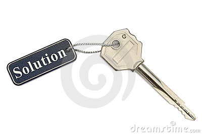 Key with label Solution