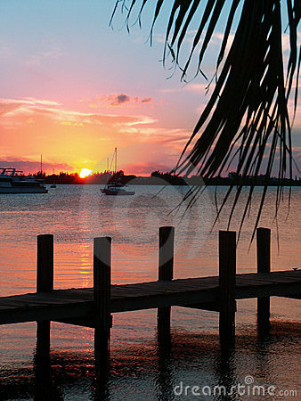 Free Key Largo Sunset II Stock Image - 148471