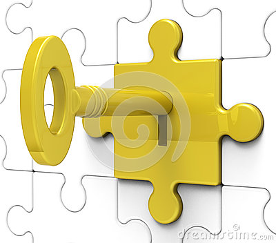 Key In Lock Shows Hidden Secrets