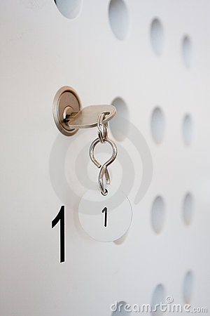 Key of locker nr. 1