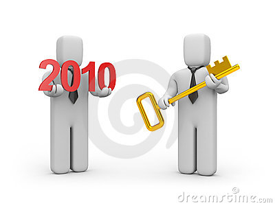 Key from new business year