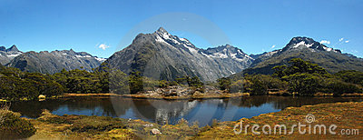 Key Summit at Fiordland National Park