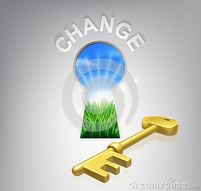 Free Key To Change Stock Images - 33839304
