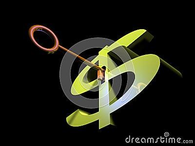 Key to dollar