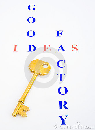 Key to the Good Ideas Factory ?